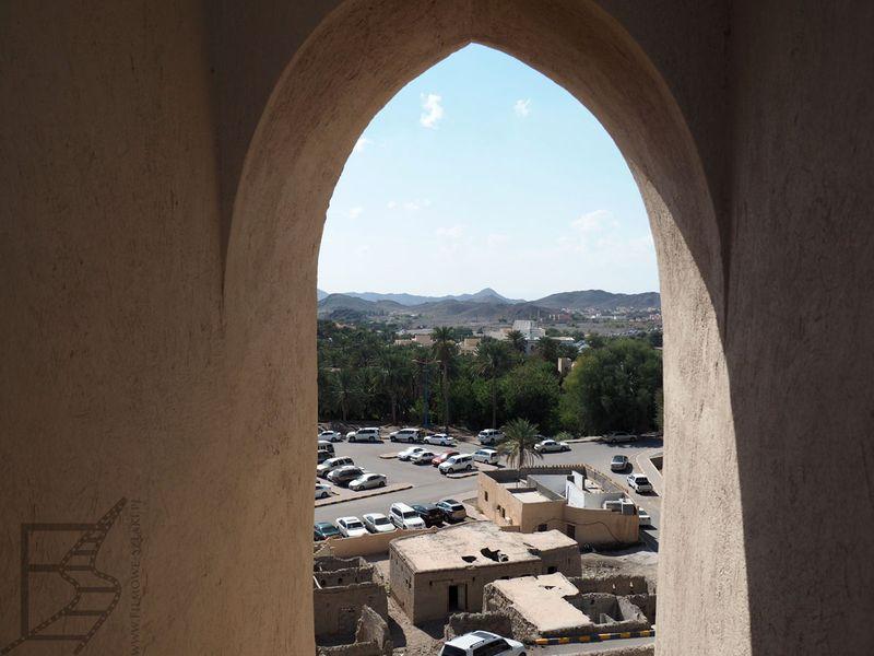 Widok z fortu