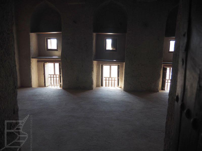 Wnętrza fortu
