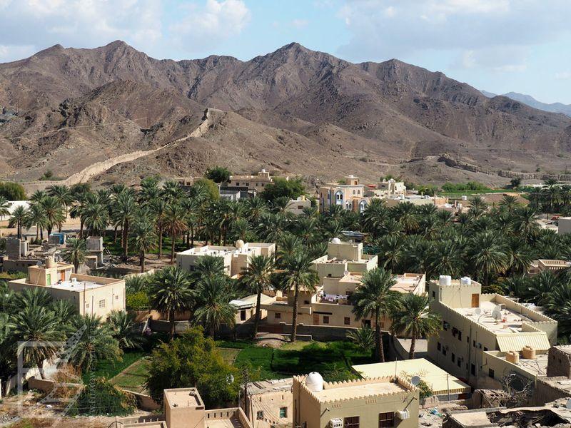Góry Djebel Akhdar