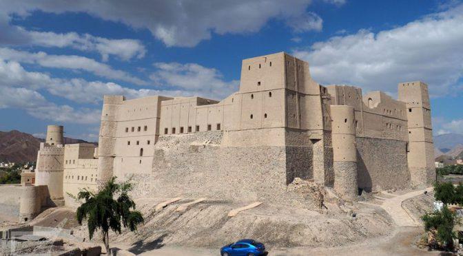 Fort Bahla, słynna twierdza w Omanie