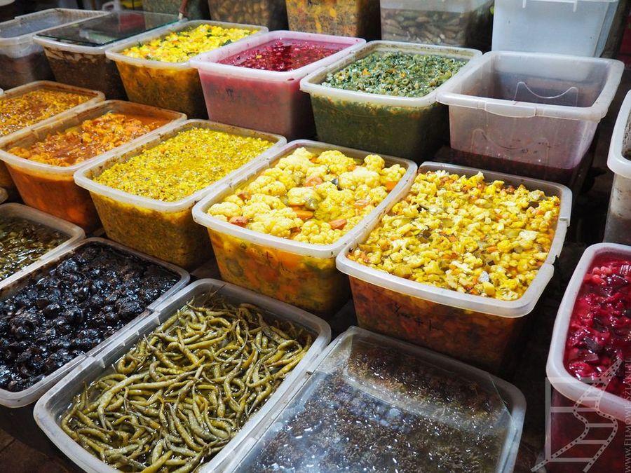Jedzenie na bazarze