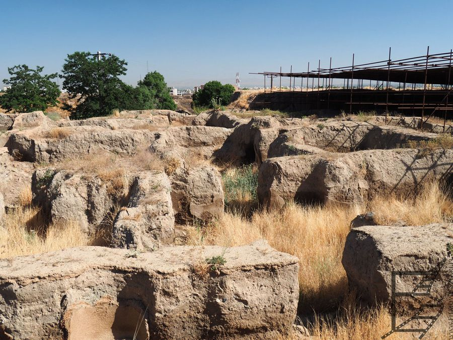 Ekbatana, stanowisko archeologiczne w Hamadanie