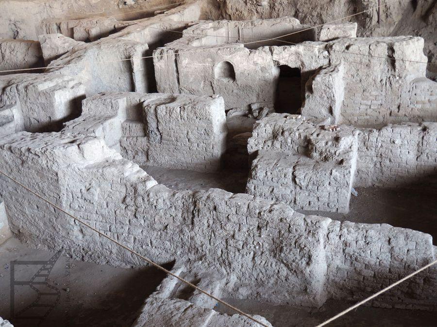 Ruiny starożytnej Ekbatany