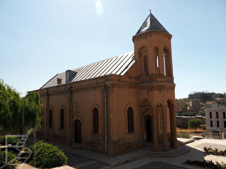 Kościół ormiański w Ekbatanie / Hamadanie