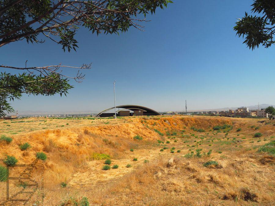 Pozostałości Ekbatany są chronione przed słońcem