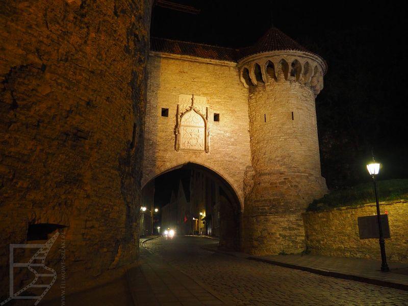 Brama miejska Tallinna przy Grubej Małgorzacie