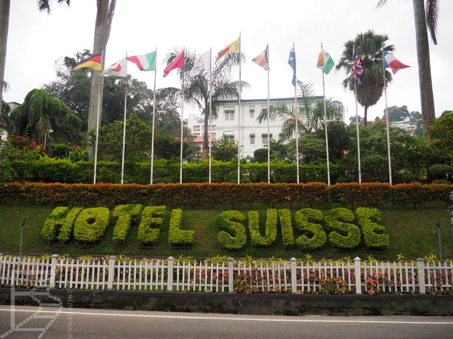 Hotel Suisse w Kandy