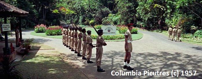 """""""Most na rzece Kwai"""" kręcony w ogrodzie Peradeniya w Kandy. Tu znajdowała się kwatera sił Brytyjskich."""