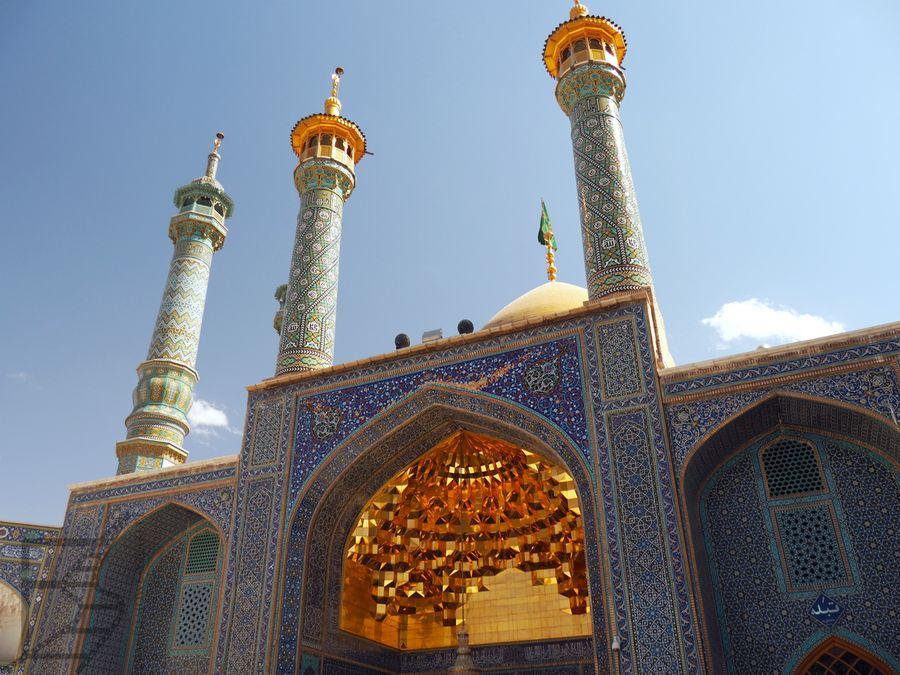 Minarety i ejwan