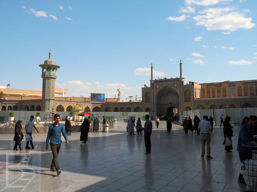Widok na sanktuarium Fatimy