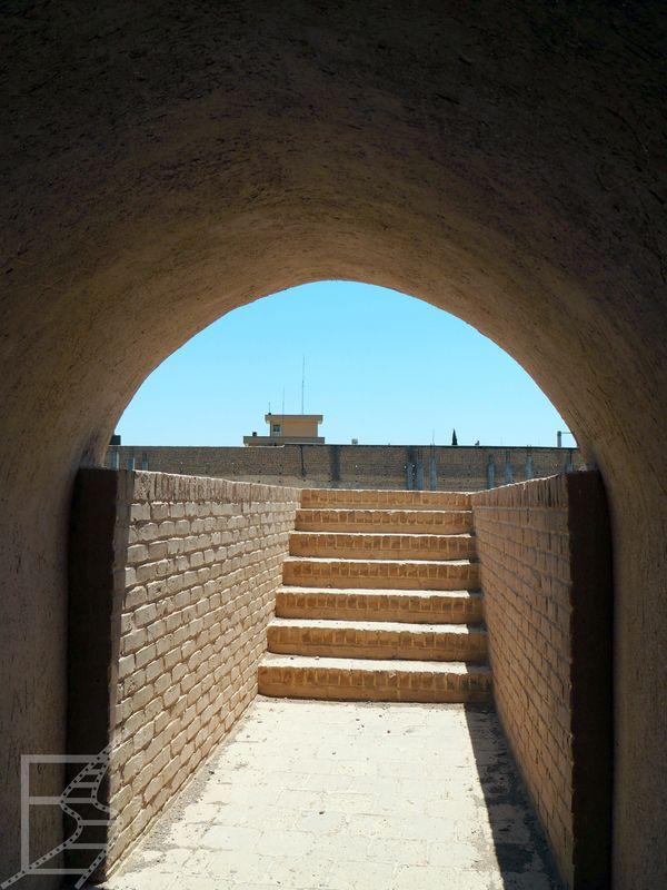 Wejście do Wieży Lodu