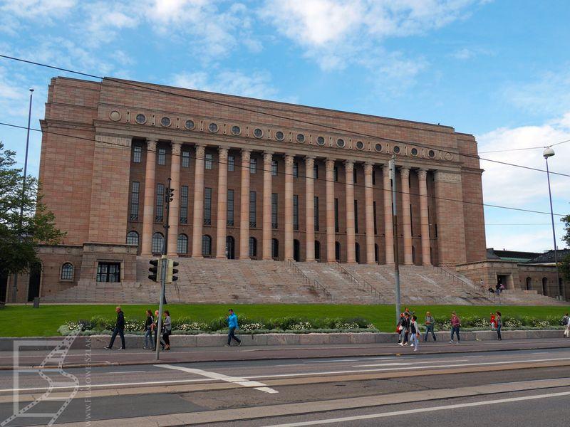 Budynek Parlamentu w Helsinkach