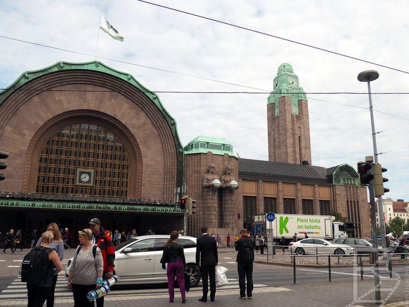 Dworzec w Helsinkach
