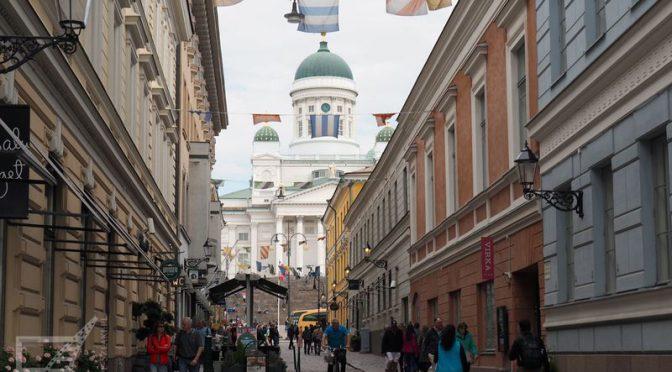 Helsinki, nowa stolica Finlandii, wschodnia Skandynawia