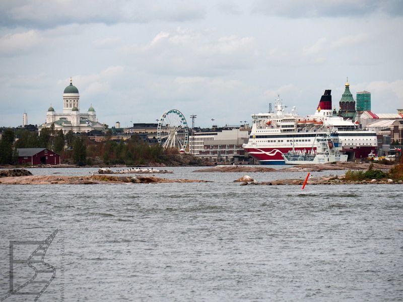 Helsinki z perspektywy wody
