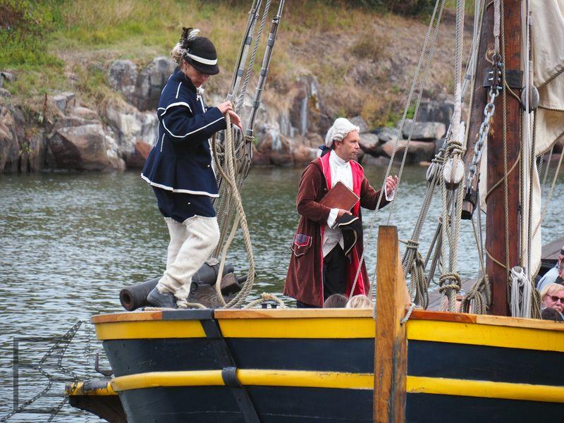 Wycieczki statkiem po Twierdza Suomenlinnie