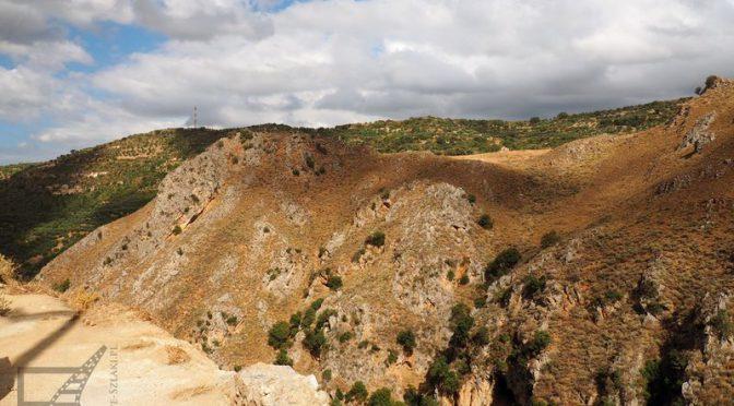Wąwóz Topolia i skalna świątynia Agia Sophia na Krecie