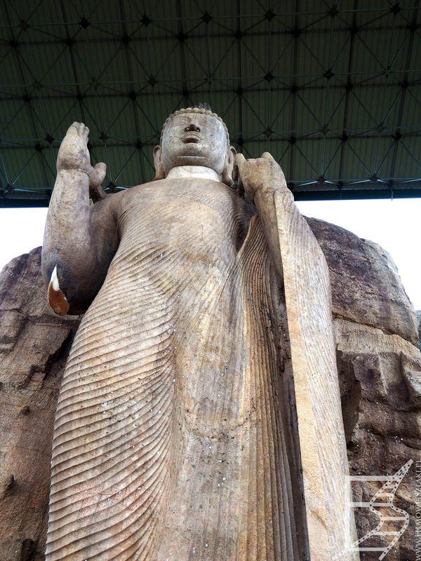 Wielki Posąg Buddy (klasztor Avukana, Sri Lanka)