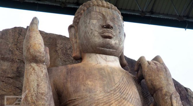 Klasztor Aukana (Avukana) i Wielki Posąg Buddy