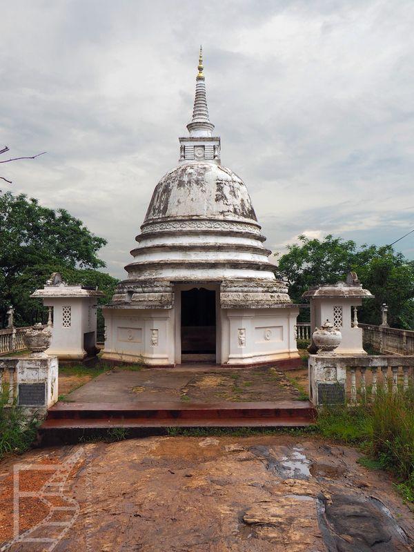 Dagoba, czyli stupa na Cejlonie