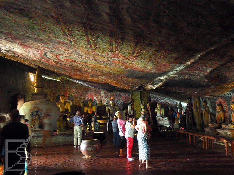 Jaskinie w Dambulla