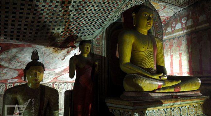 Dambulla, świątynia w jaskini
