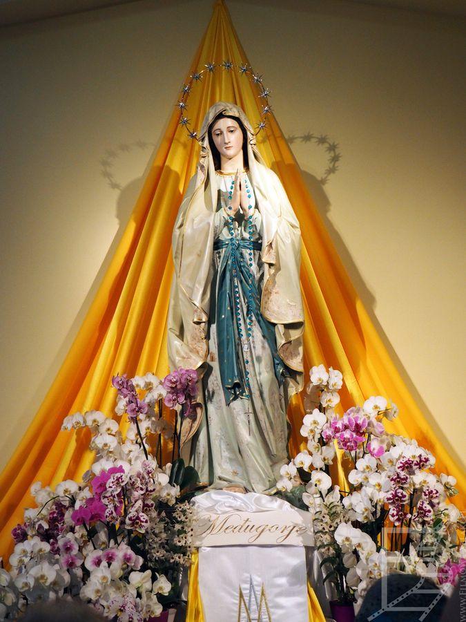 Figurka Matki Boskiej lub Gospy
