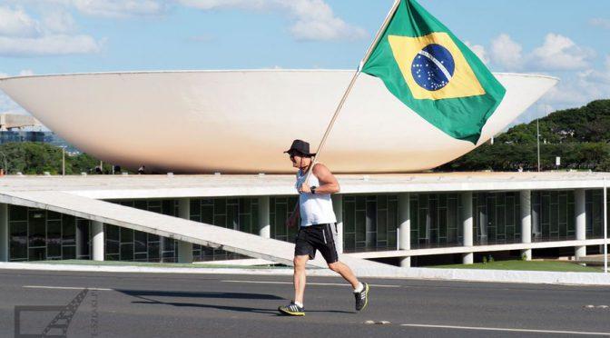 Dzień protestów w Brasilii (Brazylia)