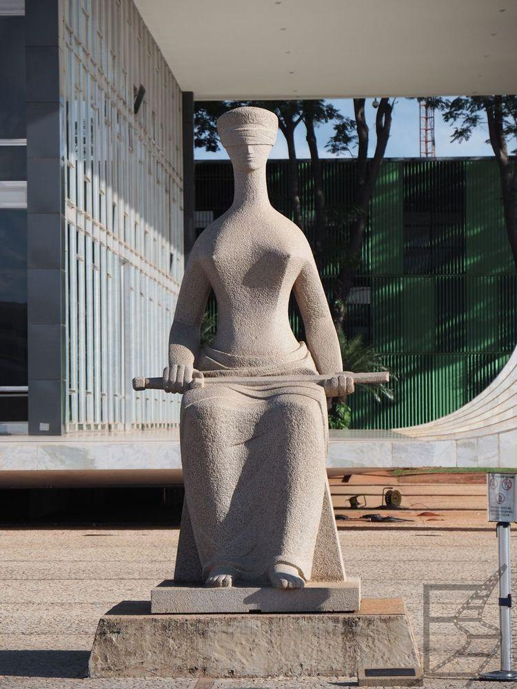 Ślepa Sprawiedliwość przed Sądem Najwyższym (Brasilia)