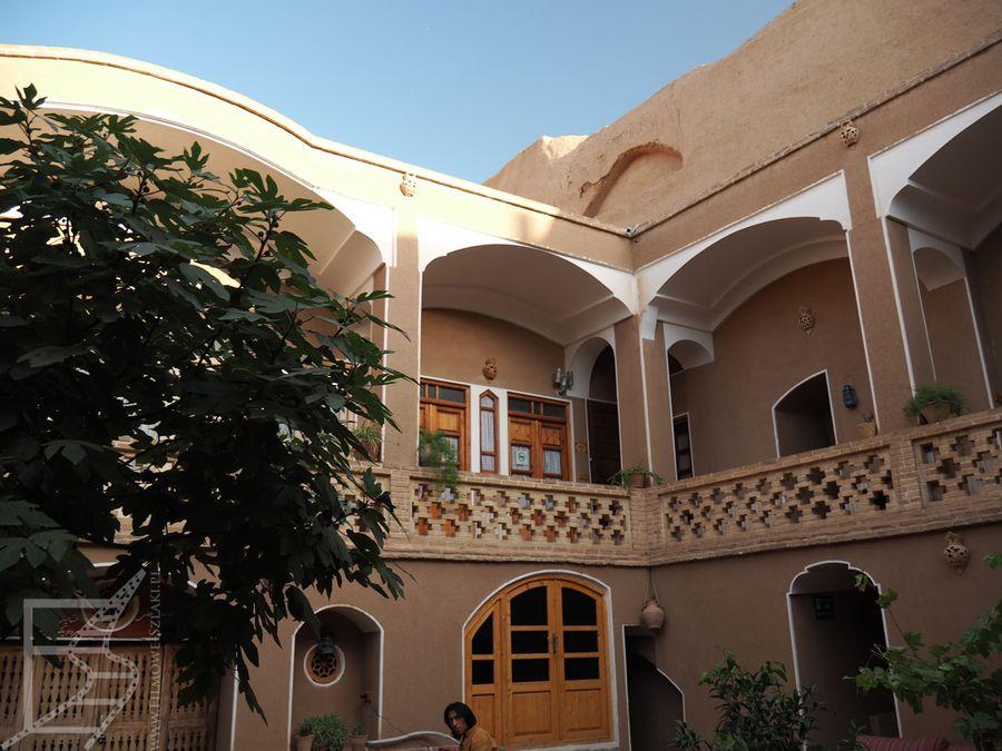 Patio naszego hotelu w Kaszanie