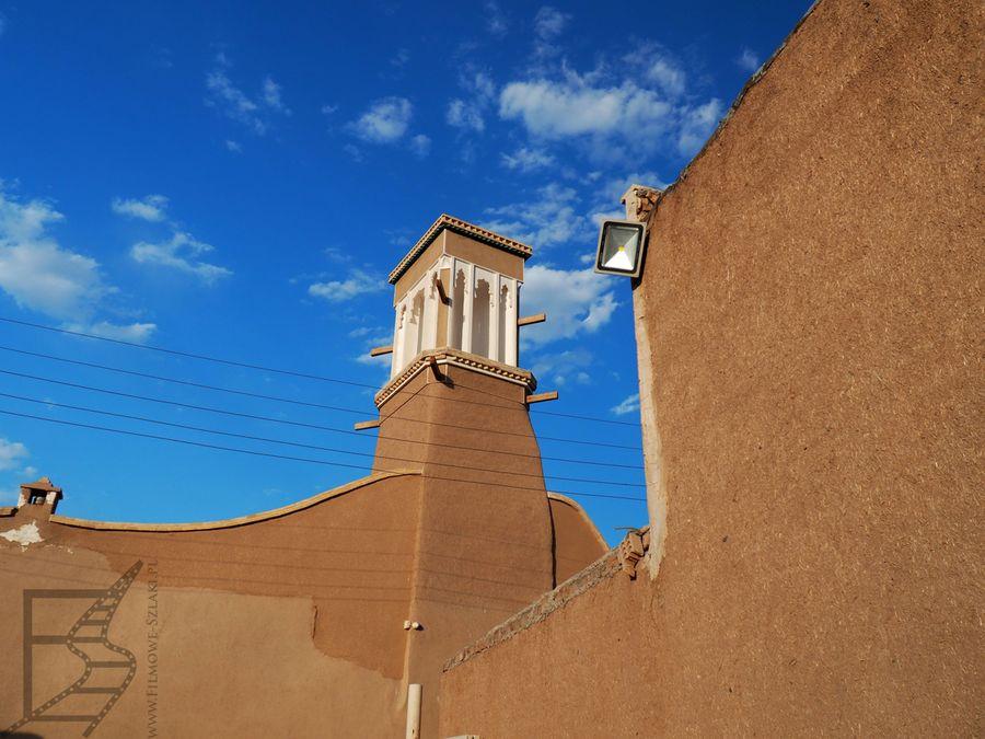 Badgir (wiatrołap) w Kaszanie