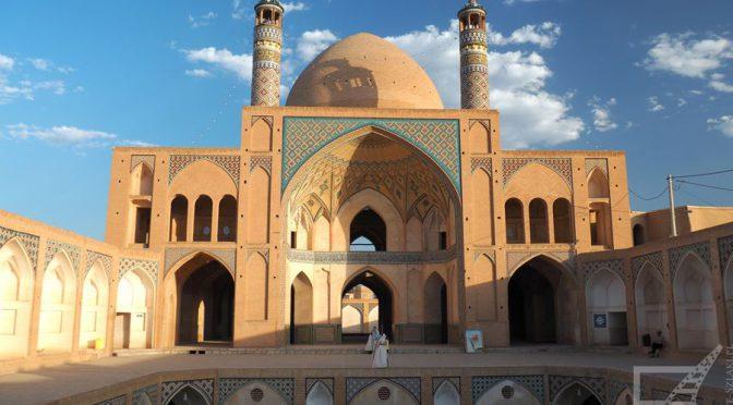Kaszan (Kashan), oaza na pustyni o długiej historii