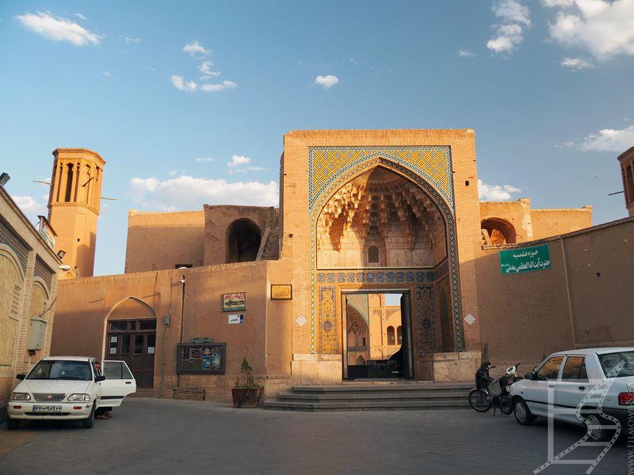 Wejście do meczetu