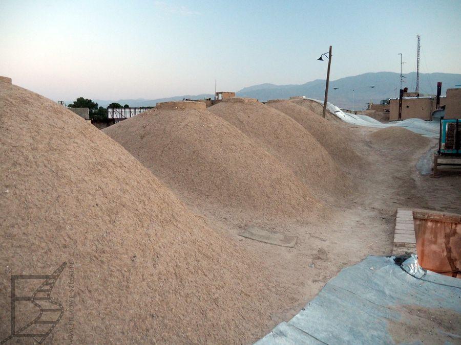 Dach bazaru w Kaszanie jest nietypową atrakcją turystyczną