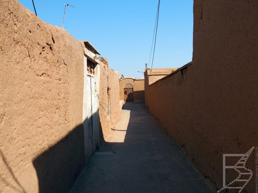 Malownicze uliczki starego centrum (Kaszan, Iran)