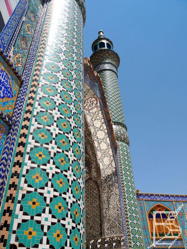 Minaret meczetu w Aran o Bidgol