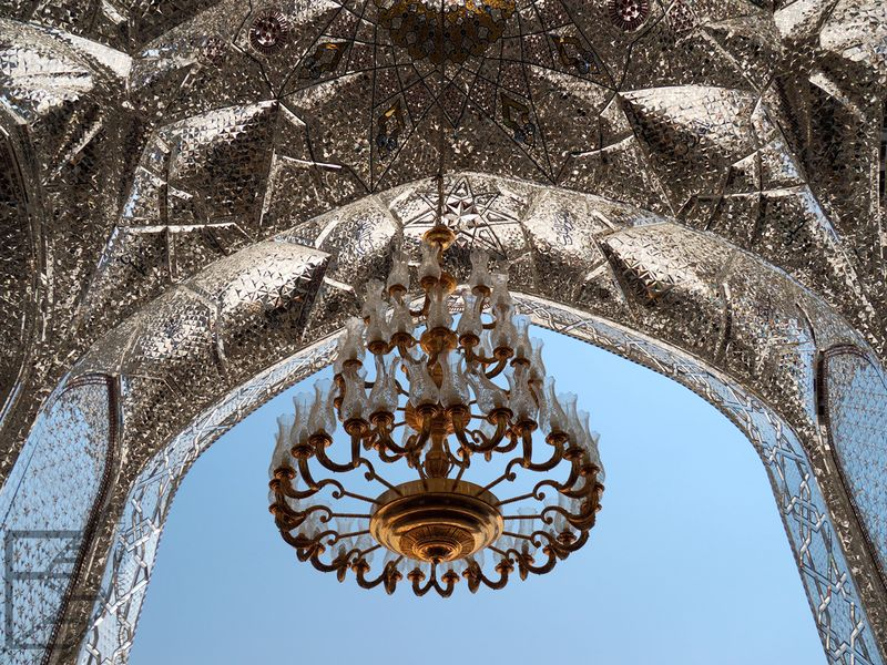 Żyrandol w meczecie