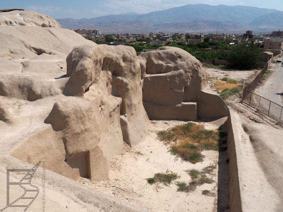 Dawny ziggurat Tepe Sialk (Kaszan, Iran)