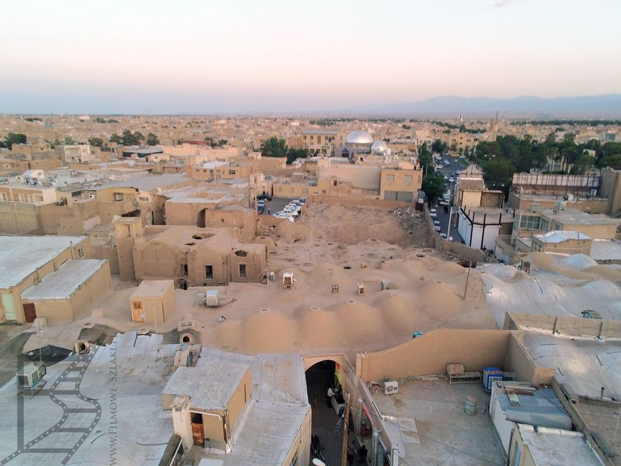 Kaszan widziany z góry, okolice bazaru