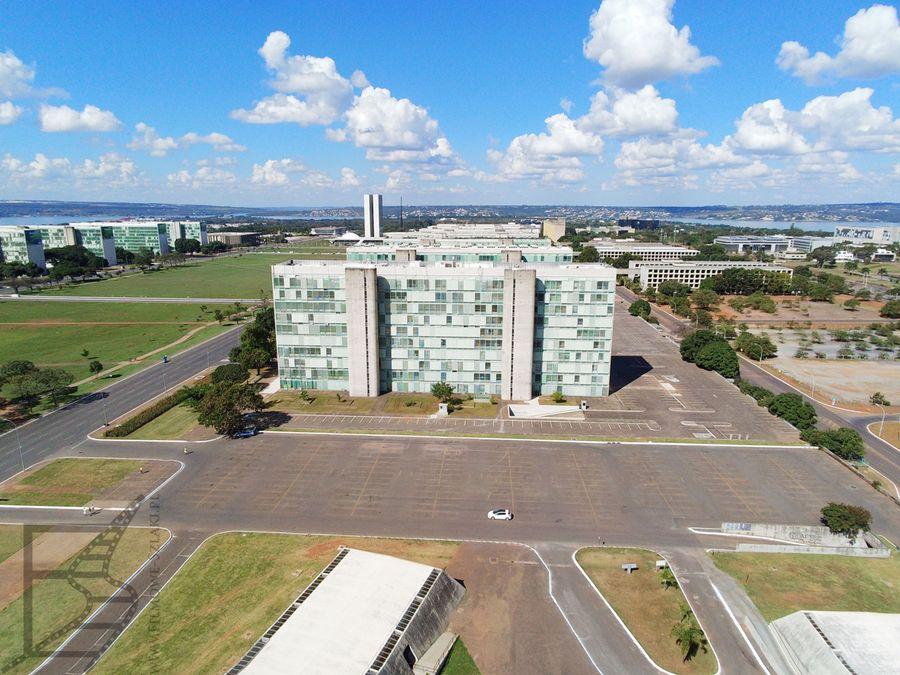 Budynki ministerialne w dzielnicy rządowej