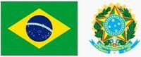 Godło i flaga Brazylii (za wikipedia.org)