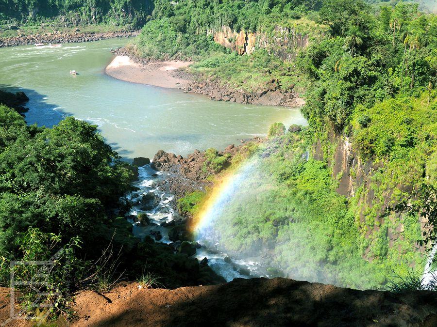 Widoki ze strony argentyńskiej (Iguazu)