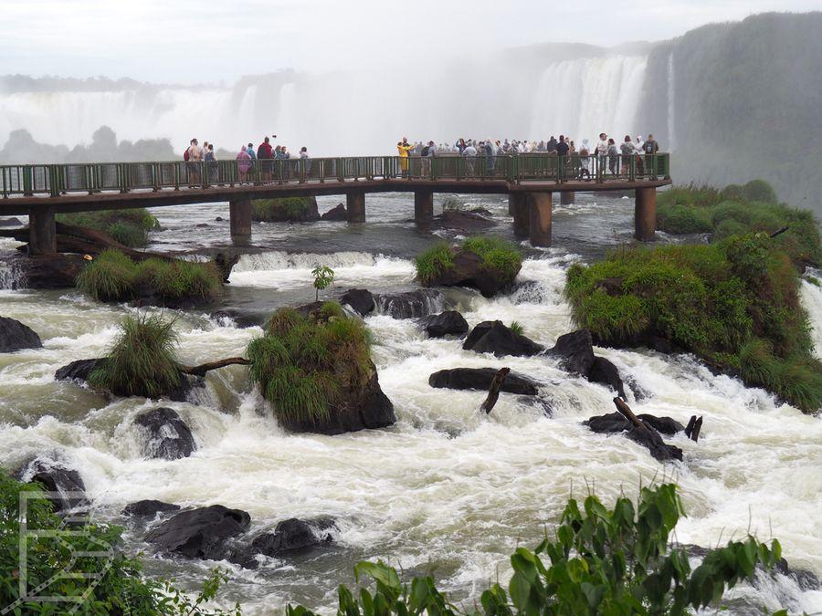 Trasa po stronie brazylijskiej