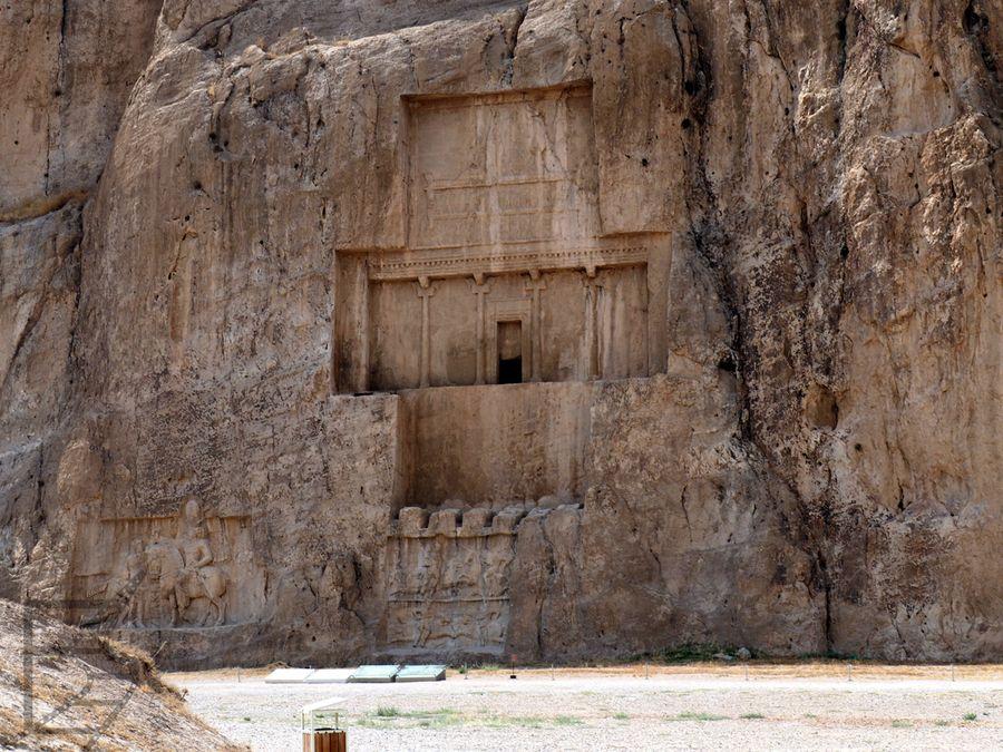 Grobowiec Dariusza I w Naqsh-e Rostam