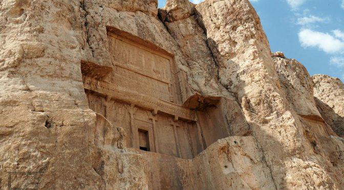 Naqsh-e Rostam, grobowce Dariusza i Kserksesa