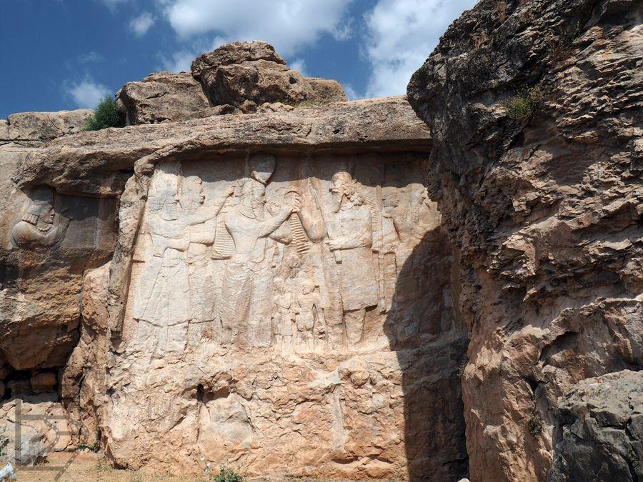 Relief z Naqsh-e Rajab