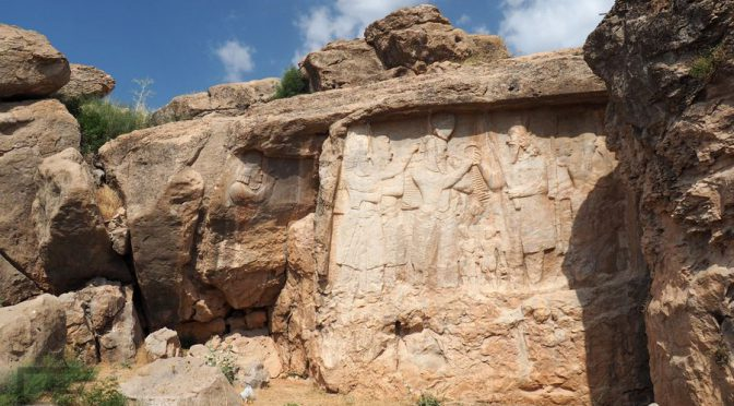 Naqsh-e Rajab, piękne perskie reliefy