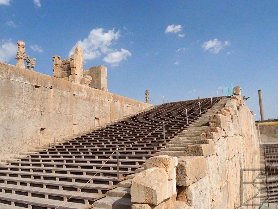 Schody do Persepolis