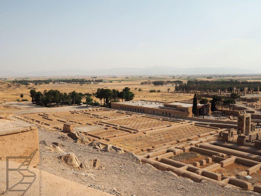 Widok na Persepolis