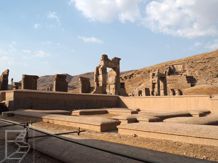 Pozostałości pałacu i miasta